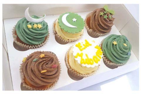 (C3) Eid Mubarak Cupcakes
